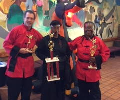 "2nd place in ""Executive (Senior) Divison"" Tai Chi. At the 11th Annual Fire Dragon Martial Arts Tournament"