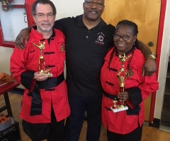 At the 11th Annual Fire Dragon Martial Arts Tournament
